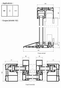 porte fenetre coulissante 2 vantaux 1 fixe central avec With seuil pmr porte fenetre