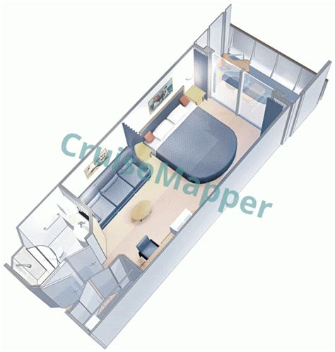grandeur of the seas cabin plan grandeur of the seas cabins and suites cruisemapper