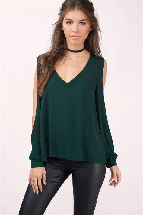 the blouse trendy black blouse black blouse cut out blouse 20 00