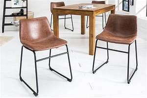 Designermöbel Riess Ambiente De : design stuhl django vintage braun mit eisengestell esszimmerstuhl lehnstuhl ebay ~ Bigdaddyawards.com Haus und Dekorationen