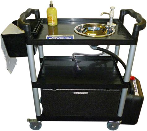 mobile hand wash sink unit portable sink handwash unit 23 lts mobile vphwu