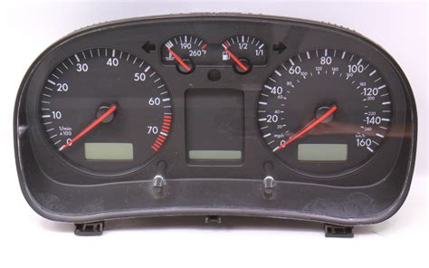 gauge cluster speedometer speedo   vw jetta golf mk