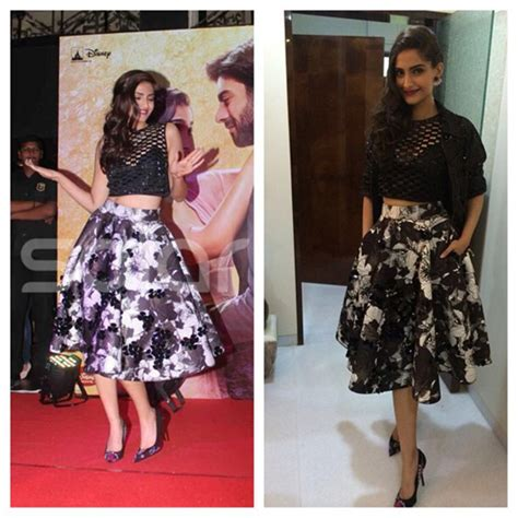 bollywood actress wearing long skirts sonam kapoor s soul guide to wearing prints vogue india