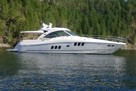 Speed Boats For Sale Vancouver Bc by 2008 Sea 60 Sundancer 174 Boat For Sale 61 Foot 2008