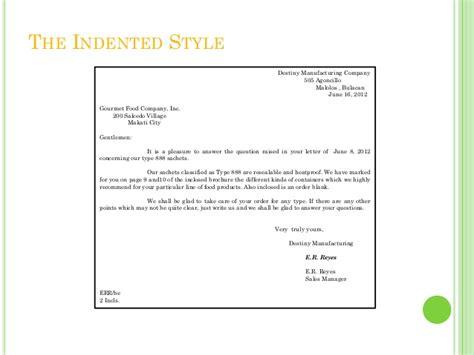 business letter writing style catatan mahasiswa