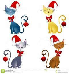 Christmas Cat Clip Art