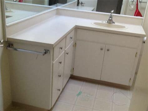 freel shaped bathroom vanity saanich victoria