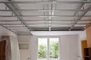 Installer Faux Plafond : prix d 39 un faux plafond autoportant et de son installation tarif co t devis ~ Melissatoandfro.com Idées de Décoration