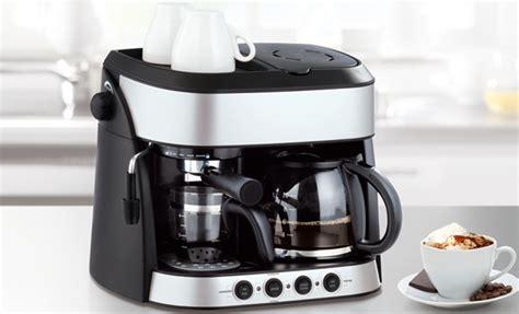 Koffiebonen Zet Apparaat by Gourmet Maxx Premium Koffiemolen 7 In 1 Koffiezetapparaat