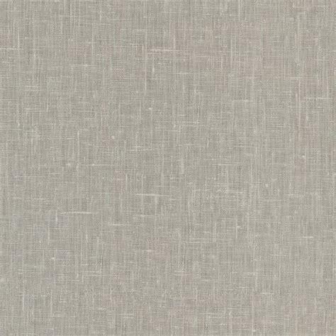 basics linge light grey linen texture wallpaper