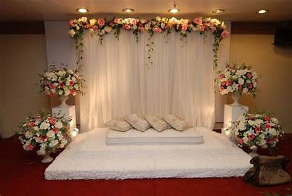 Decorations Ceremony Stage Simple Flowers Pelamin Decoration