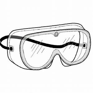 Goggles clipart lab - Pencil and in color goggles clipart lab