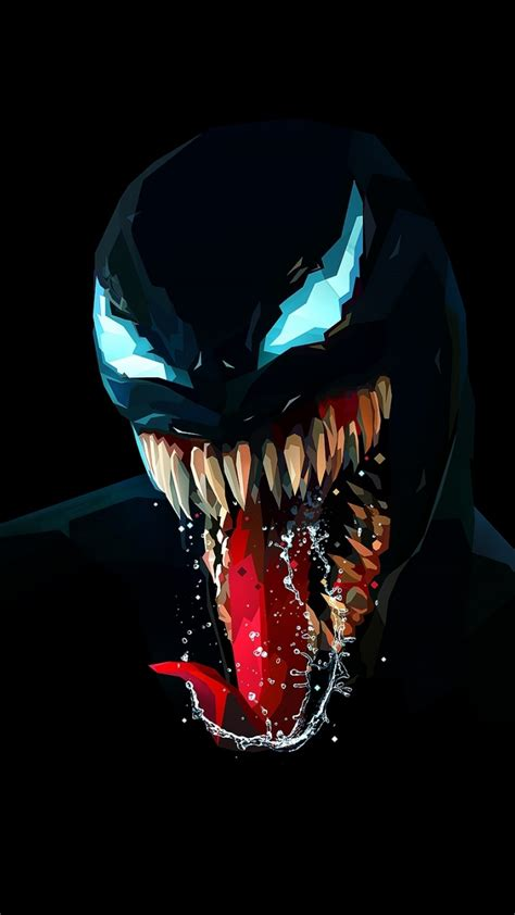 720x1280 wallpaper venom artwork minimal