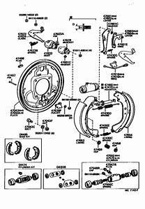 Rear Drum Brake Wheel Cylinder  U0026 Backing Plate For 1980