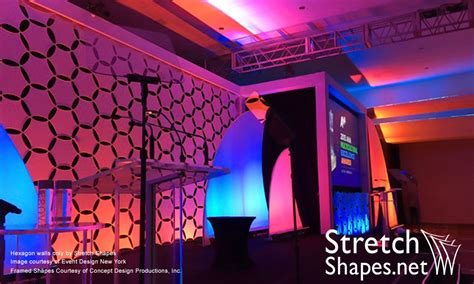 image gallery panel walls stretch shapes