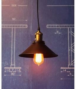 Suspension Ampoule Vintage : petite suspension vintage style industriel ampoule filament edison ~ Teatrodelosmanantiales.com Idées de Décoration