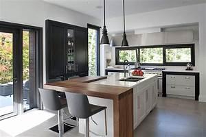 emejing deco cuisine contemporaine pictures ridgewayng With deco cuisine avec chaise contemporaine