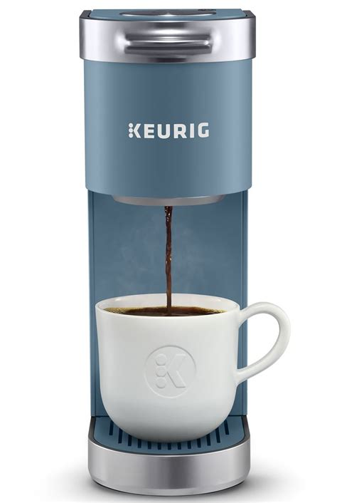 Just pop a pod in the machine, select your preferred size and get ready for a delicious cup 'o joe. Keurig K-Mini Plus, Single Serve K-Cup Pod Coffee Maker, Evening Teal - Walmart.com   Pod coffee ...