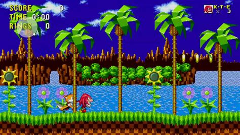 play  knuckles tails  sonic  mobile app game