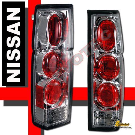 nissan hardbody tail lights chrome tail lights for 1986 1997 nissan hardbody pickup rh
