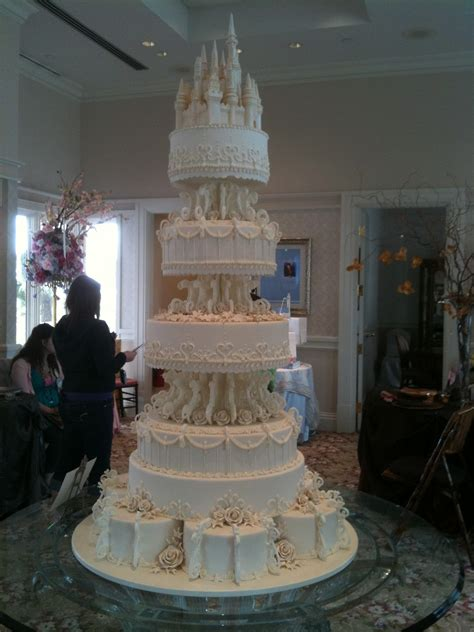 castle wedding cake wordless wednesday disney tale castle wedding cake