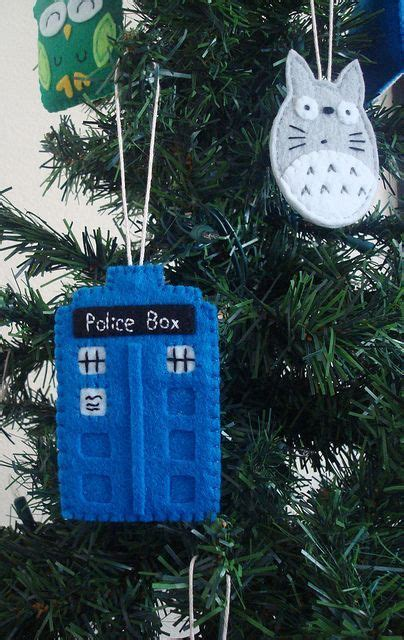 dr who tardis ornament tardis ornament and ornament