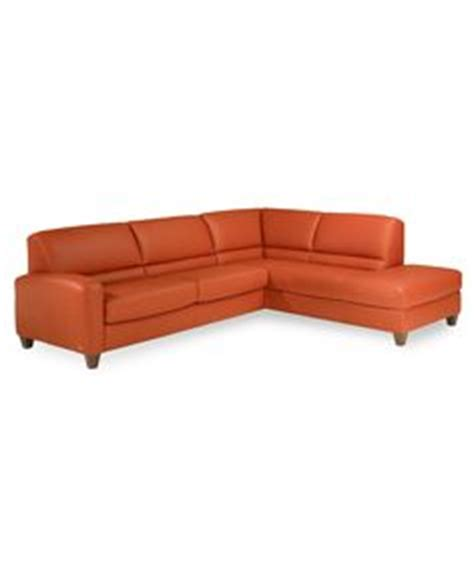 Italsofa Leather Sofa Macys by Macy S Italsofa Two Chocolate Leather Sectional Sofa
