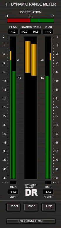 tt dynamic range meter tt dynamic range meter foobar cakewalk forums