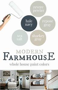 Our house modern farmhouse paint colors christinas for Kitchen cabinet trends 2018 combined with our family wall art