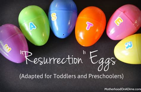 easter story eggs new printable for all ages 917 | resurrection eggs preschool toddler 620x403