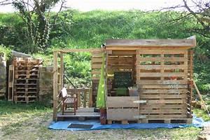 cabane de jardin enfant bois moderne faire une cabane avec With maison en palettes de bois