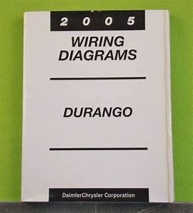 2005 Dodge Durango Factory Wiring Diagrams Manual
