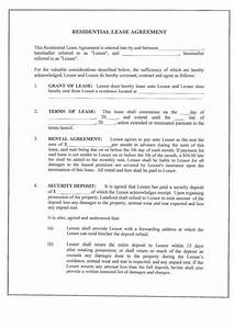 printable sample monthly rental agreement form real With real estate documents online