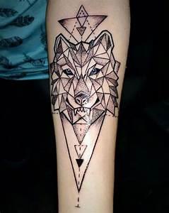 Tatouage Trait Bras : 1001 mod les de tatouage loup pour femmes et hommes dessin t te de loup symbole tatouage et ~ Melissatoandfro.com Idées de Décoration