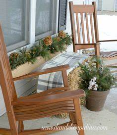 Winter Porch Decorations on Pinterest
