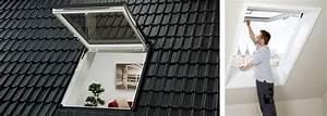 Insektenschutz Dachfenster Schwingfenster : gtu notausstieg dachfenster f r mehr sicherheit velux ~ Frokenaadalensverden.com Haus und Dekorationen