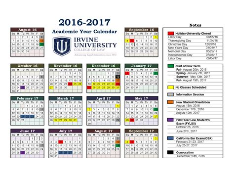 2015 16 Academic Calendar Template by Academic Calendar Template 2015 16 Awesome Printable