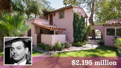 clark gable carole lombard estate for sale in palm springs