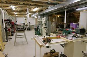 Panofish » Basement Woodshop Tour