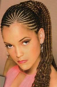 Coiffure Tresse Africaine : coiffure tresse africaine femme ~ Nature-et-papiers.com Idées de Décoration