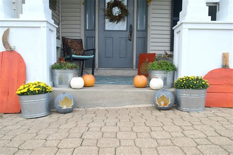 outdoor decorating diy pumpkin craft simple project for fall our house now