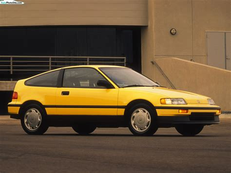 Honda Civic Crx Si 1988 Review
