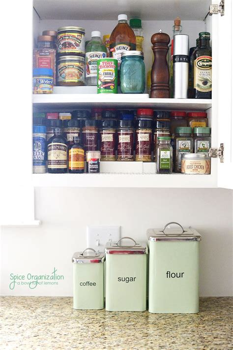 how to organize your kitchen spices time to clean out and organize your spice cupboard all 8784