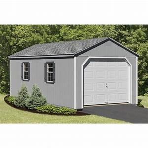 Wood garage kit smalltowndjscom for Amish garage kits