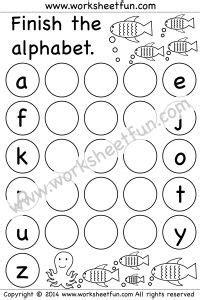 kg english images alphabet worksheets