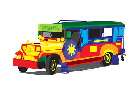 jeep philippines drawing jeepney vector art by blind099 on deviantart