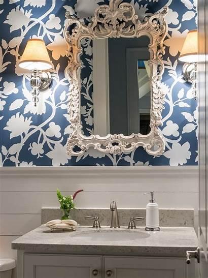 Bathroom Bathrooms Shiplap Powder Elegant Transitional Mirror