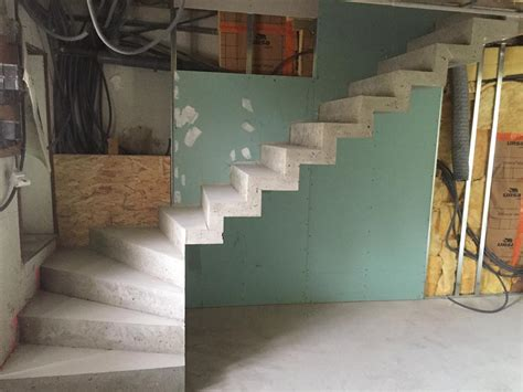 coffrage escalier en beton escaliers ma 231 onnerie fouilhoux