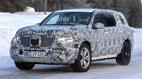 Mercedes Gls Class 2019 by 2019 Mercedes Gls Class Spied In Snow Looking Rather