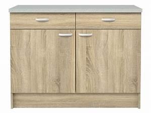 Element meuble de cuisine bas pas cher promo et soldes for Deco cuisine avec buffet original meuble